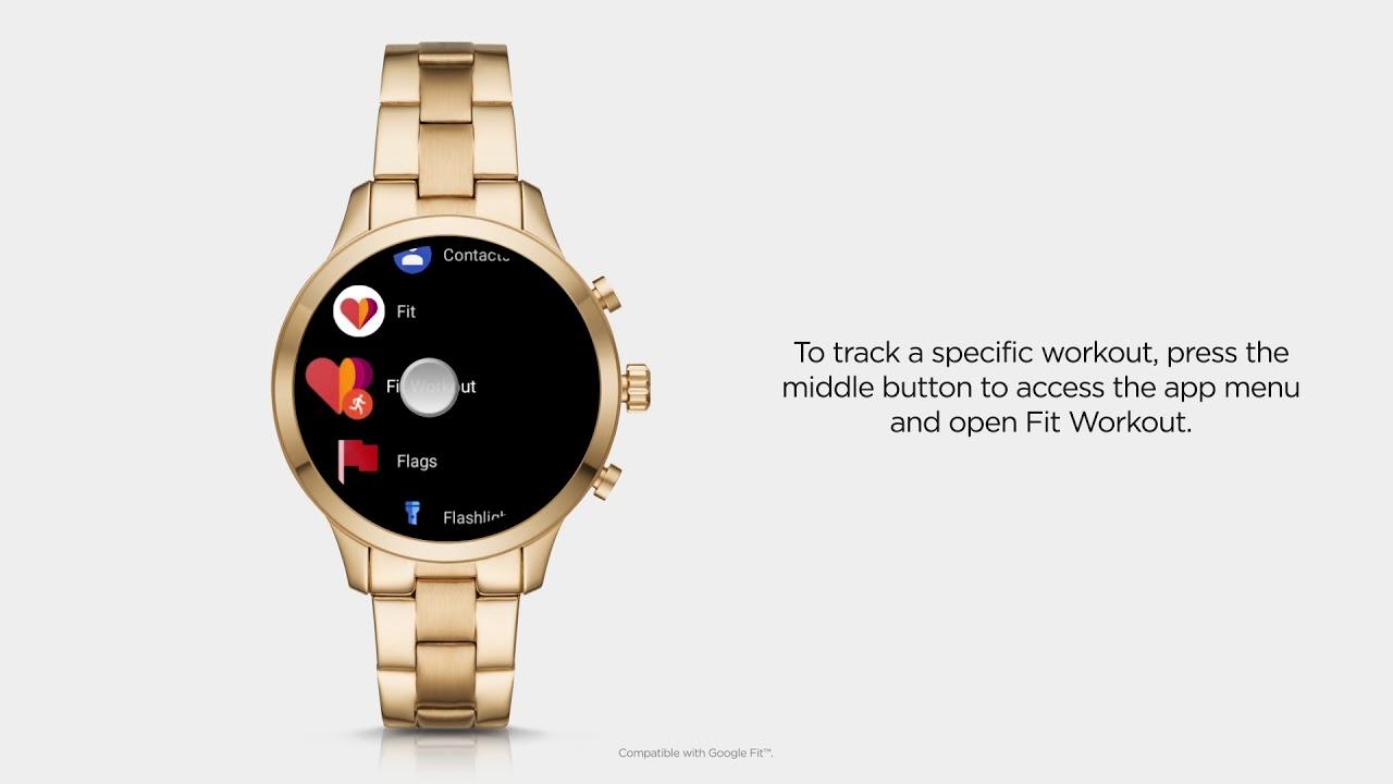 Michael Kors Access Runway Smartwatch | Using Google Fit