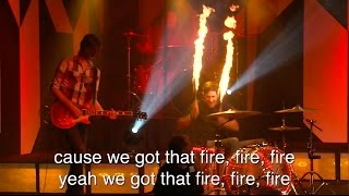 """Burn"" - Live Cover - Two Drummers & Fire Drumming!"