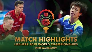 Lin Gaoyuan / Liang Jingkun vs Vladimir Samsonov / Pavel Platonov | R32 | WTTC-2019