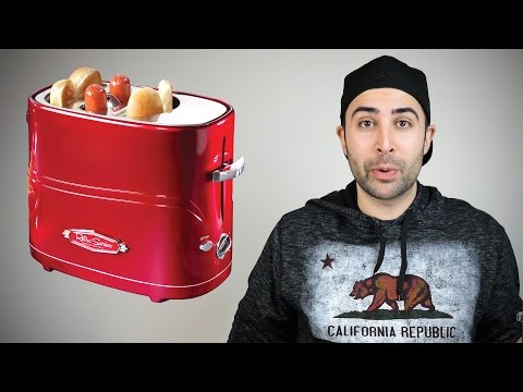 HOT DOG TOASTER REVIEW?!?!