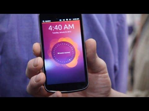 Ubuntu Phone OS Hands-On Demo