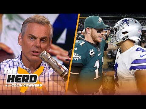 Cowboys should learn from Wentz contract, Colin predicts big things for Sam Darnold | NFL | THE HERD