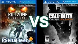 Killzone Mercenary VS Black Ops Declassified - Gameplay Mechanics