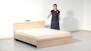 ВидеоОбзор EuroMebel: Кровать двуспальная Оскар, (Беларусь)