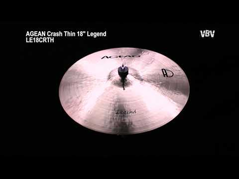 "18"" Crash Thin Legend video"