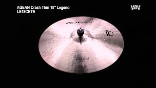"Crash Thin 18"" Legend Video"