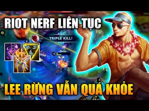 [LMHT Tốc Chiến] Riot Nerf Liên Tục Lee Sin Rừng Vẫn Quá Khỏe Trong Liên Minh Tốc Chiến