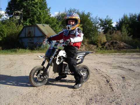 Drift Electric Motocross Motorbike Elektrocross For Kids Youtube