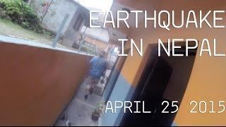 Jam session During Earthquake - Pokhara, Nepal 25 April 2015