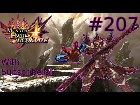 """Monster Hunter 4 Ultimate - Part #207 """"Apex Tidal Najarala"""""""