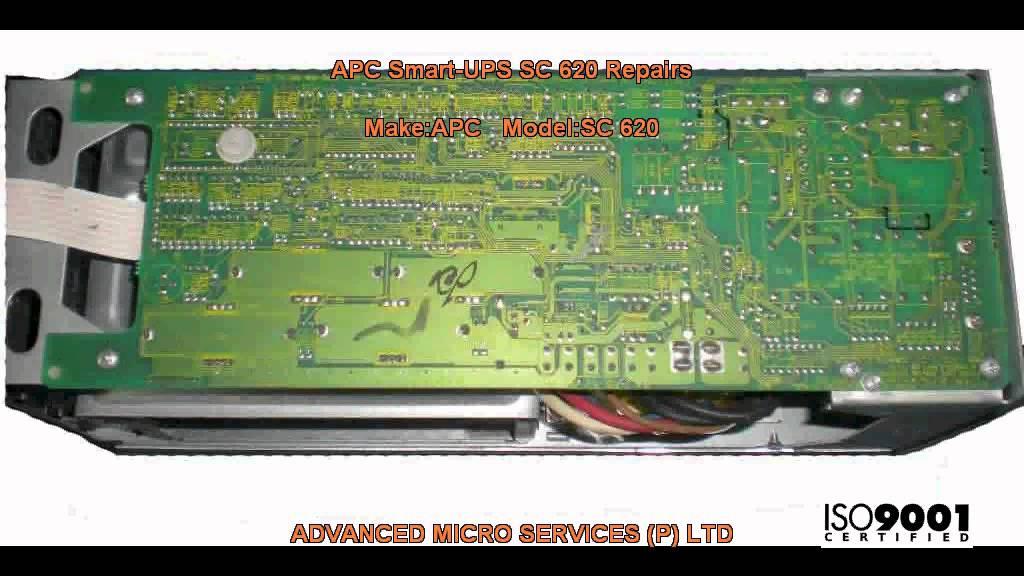 APC Smart UPS SC 620 Repairs @ Advanced Micro Services Pvt   Ltd,Bangalore,India
