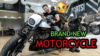 BUYING A NEW MOTORCYCLE