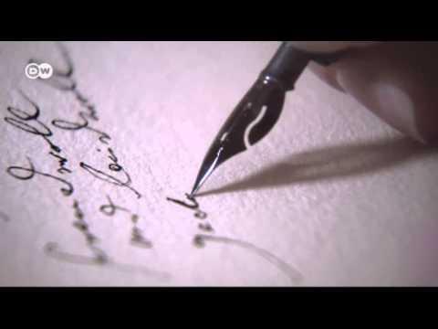 Vídeo Curso de caligrafia