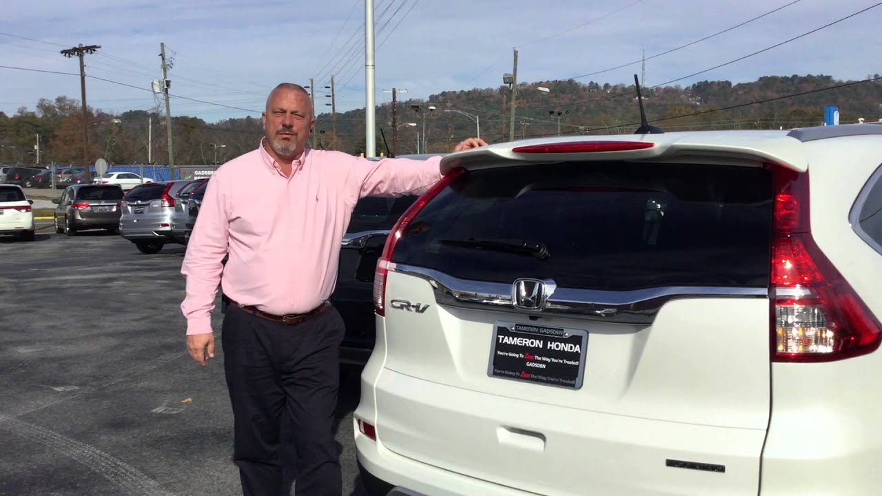 2015 honda cr v for melissa from jeff priest with tameron honda in