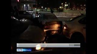 Фото Массовая авария произошла в Ярославле столкнулись 4 автомобиля