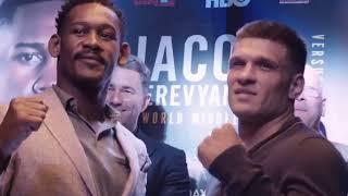 Деревянченко vs Джейкобс - FACE-OFF - Jacobs vs Derevyanchenko