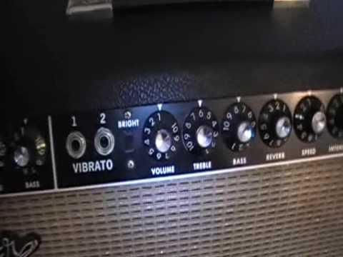 Vintage 1964 Fender Vibroverb Amp Phoenix Michaels Part 1