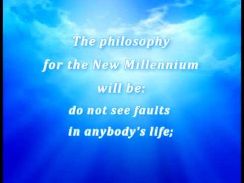 Sri Chinmoy. The New Millennium.