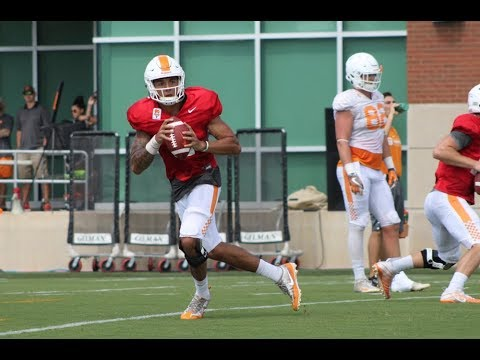 Tennessee Football Fall Practice | 8/18/17