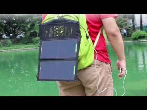 Посылка из Китая(Зарядка телефона от Солнечной Батареи)