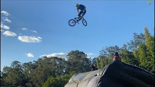 World First 360 Double Backflip Tailwhip on BMX!