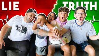 LIE DETECTOR CHALLENGE With My Family!
