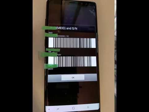 Galaxy Note 8 SM-N950U Unlock and IMEI REPAIR