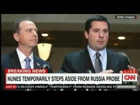 Devin Nunes Temporarily Steps Aside from Russia Probe Comments Paul Ryan and Adam Schiff