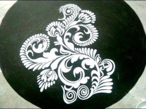 BATIK FABRIC DESIGNS/BATIK PAINTING / ALPANA DESIGNS /KOLAM DESIGN/MUGGULU /saree desings