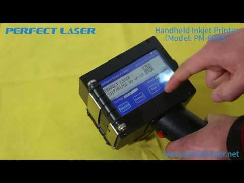 Portable and Handheld  Industrial Inkjet Printer