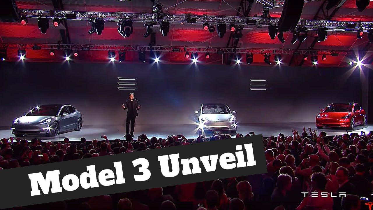 Tesla Model 3 Unveil | The Full Launch Event