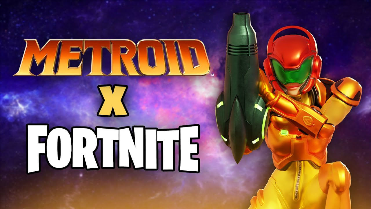 METROID X FORTNITE