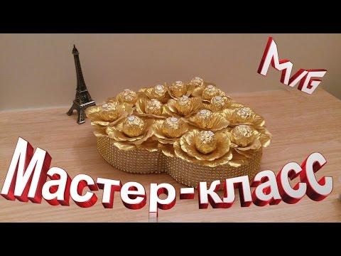 Букеты из конфет своими руками, пошаговые ФОТО - продолжение 5