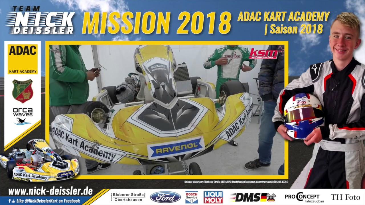 MISSION 2018 | NICK DEISSLER | ADAC KART ACADEMY