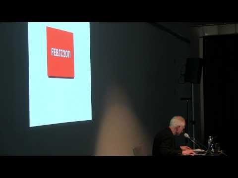 Artists on Artists Lecture Series - Haim Steinbach on On Kawara