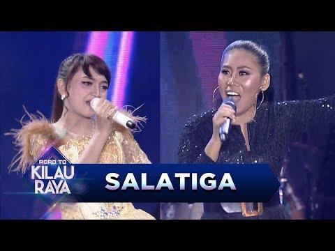 DUET TERBAIK!! Evi Masamba Feat Jihan Audy [DITINGGAL RABI] - Road To Kilau Raya (22/7)