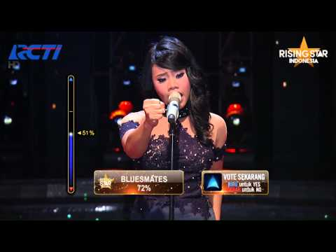 "Evony Arty ""Stairway To Heaven"" Led Zeppelin - Rising Star Indonesia Best Of 6 Eps 22"