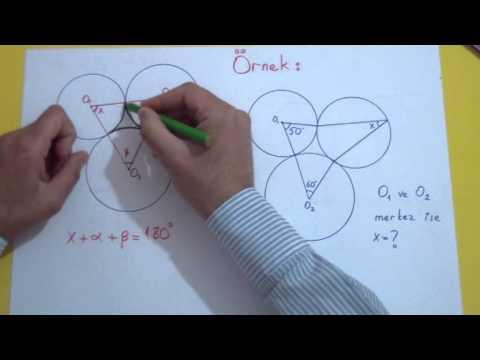Çemberde Açılar 3 Şenol Hoca Matematik