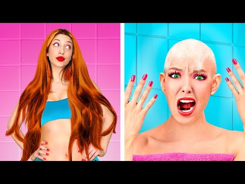 Download Thin Hair vs Thick Hair Problems/ Funny Awkward Situations by Challenge Accepted