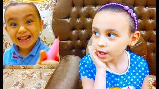 حمو بيعمل مقلب في لعبة تصفيف الشعر مريم ومحمد