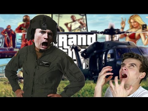 YOU ARE BANNED FROM HELICOPTERS | GTA V