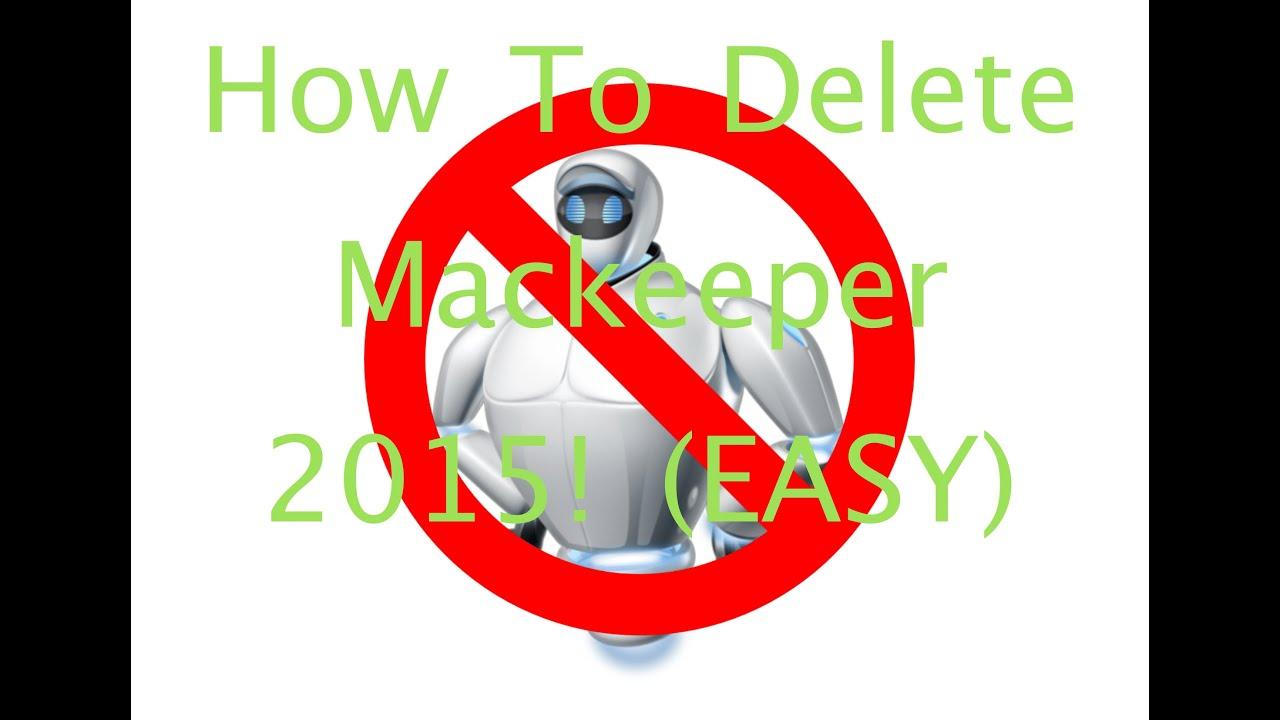 how to delete mackeeper