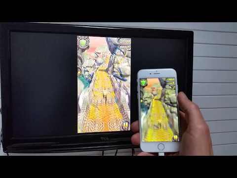 Iphone 6  6 Plus: How to Mirror to your HDTV Netflix, Games, Videos, Photos, Apple TV, etc