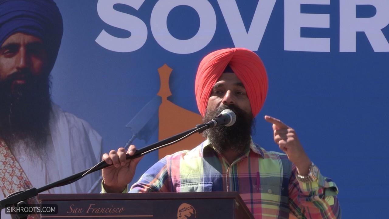 Bhai Harpreet Singh, Toronto @ Sikh Rally, San Francisco - June 11, 2017