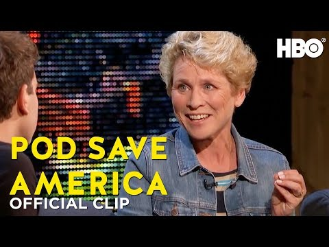 What Does Chrissy Houlahan Have to Say? | Truth Matters | Pod Save America | HBO