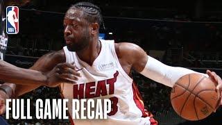 Heat vs Wizards | Dwyane Wade Leads the Heat in DC | March 23, 2019
