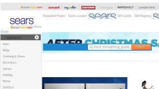 How Do Use Sears Ociate Discount Card Online