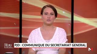 PJD: communiqué du secrétariat général