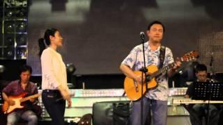 behind the stage _ Chí Tài & Uyên Trang _ LÂU ĐÀI TÌNH ÁI part 3