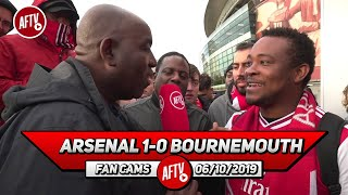 Arsenal 1-0 Bournemouth | Pepe Is A Top Player, Be Patient With Him! (Belgium)